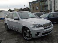 2010 BMW X5 3.0 XDRIVE40D M SPORT 5d AUTO 302 BHP 7 SEATS £16000.00