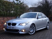 "USED 2008 58 BMW 5 SERIES 2.0 520D (175 bhp) M SPORT 4dr AUTO..HIGH SPEC..FANTASTIC CONDITION !! 19""+M STYLING PACK+XENONS+TINTS+PDC+LEATHER+NAV+CRUISE"