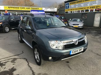 View our DACIA DUSTER