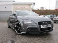 2013 AUDI TT 2.0 TDI QUATTRO AMPLIFIED BLACK EDITION 2d 168 BHP £15950.00