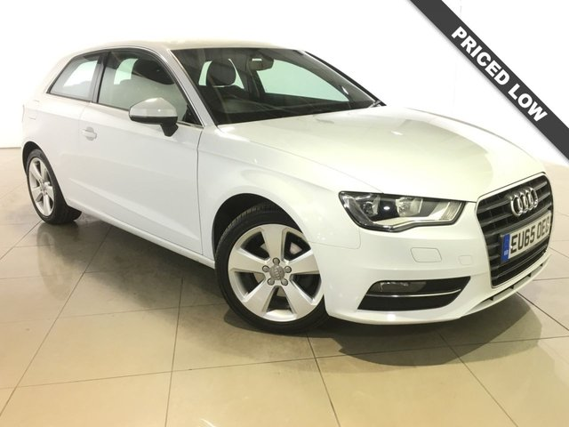View our 2015 65 AUDI A3 1.2 TFSI SPORT 3d 109 BHP