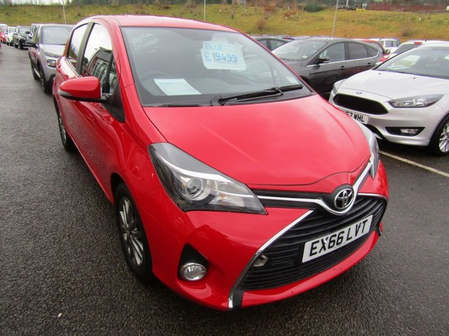 View our 2016 66 TOYOTA YARIS 1.4 D-4D ICON 5d 90 BHP