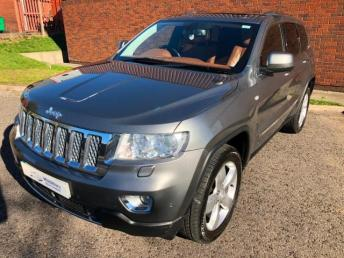 2012 JEEP GRAND CHEROKEE 3.0 CRD V6 Overland Summit 4x4 5dr £16000.00