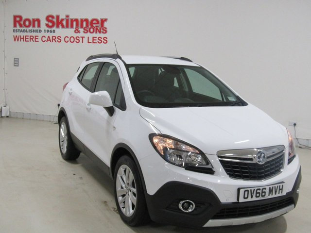 View our 2016 66 VAUXHALL MOKKA 1.4 EXCLUSIV S/S 5d 138 BHP