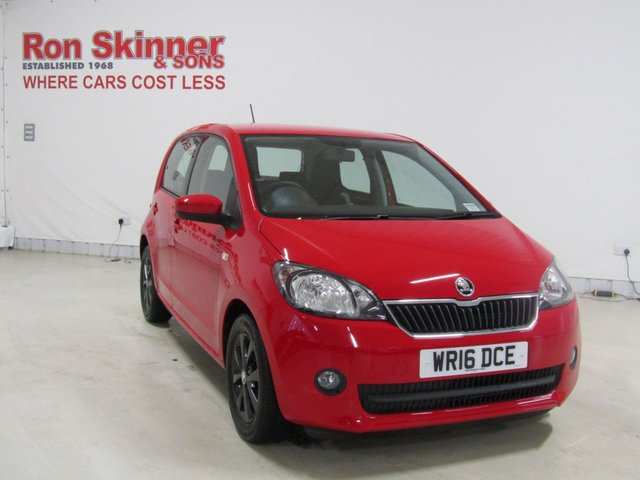 View our 2016 16 SKODA CITIGO 1.0 SE L GREENTECH MPI 5d 74 BHP