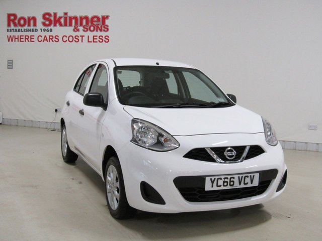 View our 2016 66 NISSAN MICRA 1.2 VIBE 5d 79 BHP