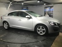 USED 2010 60 VOLVO S60 2.0 D3 SE 4d AUTO 161 BHP Bluetooth   :   Full leather upholstery   :   Heated front seats   :   Rear parking sensors   :   Full Volvo service history