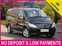 USED 2014 63 MERCEDES-BENZ VITO DUALINER 116 CDI SPORT AUTOMATIC LONG 6 SEAT COMBI VAN 6 SEAT TWIN SLIDING DOORS CRUISE AIR CON BLUETOOTH