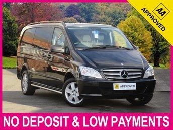 2014 MERCEDES-BENZ VITO DUALINER 116 CDI SPORT AUTOMATIC LONG 6 SEAT COMBI VAN £14450.00