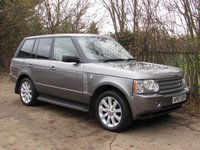 USED 2007 07 LAND ROVER RANGE ROVER 4.2 V8 SUPERCHARGED 5d AUTO 391 BHP FSH