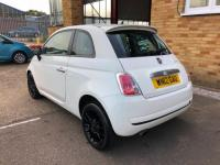 USED 2012 12 FIAT 500 0.9 TwinAir (s/s) 3dr ALLOYS. HALF LEATHER.AIR CON