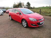 USED 2013 13 VAUXHALL ASTRA 2.0 CDTi 16v SRi 5dr EXCELLENT VALUE ESTATE