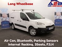 USED 2013 13 PEUGEOT PARTNER 1.6 E-HDI SE 750 90 BHP Long Wheel Base, Air Con, Bluetooth, Rear Park Sensors, Electric Pack,  **Drive Away Today** Over The Phone Low Rate Finance Available, Just Call us on 01709 866668**