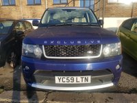 USED 2009 59 LAND ROVER RANGE ROVER SPORT 3.0 TDV6 HSE EXCLUSIVE 5d AUTO 245 BHP
