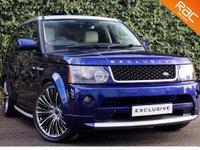 2009 LAND ROVER RANGE ROVER SPORT 3.0 TDV6 HSE EXCLUSIVE 5d AUTO 245 BHP £POA