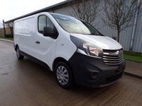 USED 2014 64 VAUXHALL VIVARO 1.6 2900 L2H1 CDTI P/V ECOFLEX 1d 89 BHP VAN ONLY 52,000 MILES NO VAT PART EXCHANGE AVAILABLE / ALL CARDS / FINANCE AVAILABLE