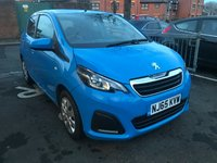 USED 2015 65 PEUGEOT 108 1.0 ACTIVE 5d AUTO 68 BHP ONLY 9170 MILES!  AUTOMATIC! CHEAP TO RUN, LOW CO2 EMISSIONS , £0 ROAD TAX AND EXCELLENT FUEL ECONOMY!  GOOD SPECIFICATION INCLUDING AIR CONDITIONING, AUXILLIARY INPUT, BLUETOOTH, DAB, MEDIA CONNECTIVITY, TRACTION CONTROL AND EXCELLENT FUEL ECONOMY!