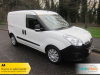 USED 2015 15 VAUXHALL COMBO VAN 1.2 2300 L1H1 CDTI 1d 90 BHP CREW VAN, 5 SEATS 5 Seats, ABS, Electric windows, Electric mirrors, PAS, Remote central locking, Radio\/CD, Twin side loading doors, Ply-lined, Ply bulkhead, Immobiliser