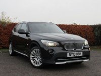 USED 2010 10 BMW X1 2.0 XDRIVE23D SE 5d AUTOMATIC * FOUR WHEEL DRIVE * AUTOMATIC * FULL HEATED LEATHER INTERIOR *