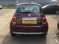 USED 2015 65 FIAT 500 1.2 Lounge (s/s) 3dr FULL SERVICE & GREAT CONDITION