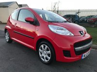 USED 2012 12 PEUGEOT 107 1.0 URBAN 3 door 44000 miles 2 owners full service history very clean example