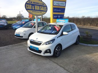 2015 PEUGEOT 108 PURE TECH ALLURE 1.2 3 DOOR **ONE LADY OWNER**19K**FSH** £5795.00
