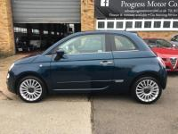 USED 2015 65 FIAT 500 0.9 TwinAir Lounge (s/s) 3dr