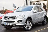USED 2006 06 MERCEDES-BENZ M CLASS 3.0 ML320 CDI SPORT 5d 222 BHP FULL SERVICE HISTORY INCLUDING 8 SERVICE STAMPS, 2 KEYS