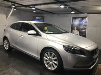 USED 2014 64 VOLVO V40 2.0 D3 SE LUX NAV 5d 148 BHP Only £30 a year road tax  :  Bluetooth  :  Sat Nav  :  DAB Radio  :  Wi-Fi  :  Full leather upholstery  :  Heated front seats  :  Heated screen  :  Rear parking sensors  :  Full service history
