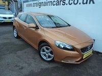 2013 VOLVO V40 2.0 D3 SE 5d AUTO 148 BHP £10495.00