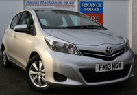USED 2013 13 TOYOTA YARIS 1.4 D-4D Great Value 5dr Hatchback with Low Road Tax and High 72mpg FULL TOYOTA SERVICE HISTORY