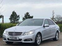 2009 MERCEDES-BENZ E CLASS 3.0 E350 CDI BLUEEFFICIENCY AVANTGARDE 4d AUTO 231 BHP £8995.00