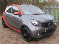 2015 SMART FORFOUR 1.0 EDITION1 5d 71 BHP £6995.00