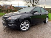 2009 FORD FOCUS 1.6 ZETEC TDCI 5d + 1 FORMER KEEPER + SERVICE HISTORY £2450.00