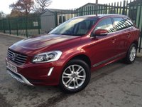 2014 VOLVO XC60 2.4 D5 SE LUX NAV AWD 5d AUTO 212 BHP PAN ROOF SAT NAV LEATHER ONE OWNER FSH £15990.00