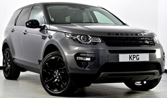 2017 LAND ROVER DISCOVERY SPORT 2.0 TD4 HSE Black 4X4 (s/s) 5dr Auto £31995.00