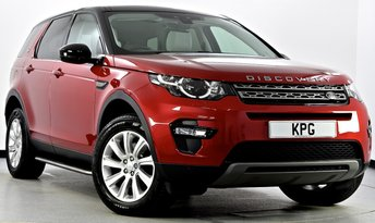 2015 LAND ROVER DISCOVERY SPORT 2.0 TD4 SE Tech 4X4 5dr Auto [9] £25995.00