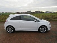 USED 2010 60 VAUXHALL CORSA 1.2 i 16v SXi 3dr WHITE WITH XP PACK