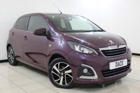 USED 2016 16 PEUGEOT 108 1.2 PURETECH ALLURE 5DR 82 BHP 1 Owner Full Service History FULL SERVICE HISTORY + REVERSE CAMERA + BLUETOOTH + CRUISE CONTROL + MULTI FUNCTION WHEEL + AIR CONDITIONING + RADIO/AUX/USB + ELECTRIC WINDOWS + 15 INCH ALLOY WHEELS