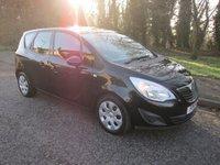 2011 VAUXHALL MERIVA 1.7 EXCLUSIV CDTI 5d AUTO 99 BHP £4250.00