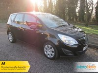 USED 2011 11 VAUXHALL MERIVA 1.7 EXCLUSIV CDTI 5d AUTO 99 BHP Very Nice Automatic Vauxhall Meriva with Air Conditioning, Electric Windows, Electric Door Mirrors and Great Service History.