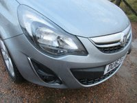 USED 2013 63 VAUXHALL CORSA 1.2 i 16v SXi 3dr VERY NICE CAR IN METALLIC GREY