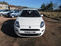 USED 2014 64 FIAT PUNTO 1.2 Easy 3dr NICE CAR IN WHITE