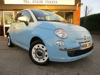 2014 FIAT 500 1.2 COLOUR THERAPY 3d 69 BHP £5300.00