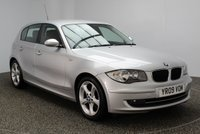 USED 2009 09 BMW 1 SERIES 2.0 116I SPORT 5DR 121 BHP 0% FINANCE AVAILABLE T&C'S APPLY + AIR CONDITIONING + MULTI FUNCTION WHEEL + RADIO/CD + ELECTRIC WINDOWS + ELECTRIC MIRRORS + 17 INCH ALLOY WHEELS