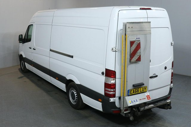2016 66 MERCEDES-BENZ SPRINTER 2.1 316 CDI LWB 163 BHP AIR CON WITH 500KG TAIL LIFT VAN TAIL LIFT/AIR CON/163 BHP