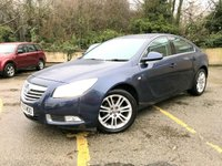 2011 VAUXHALL INSIGNIA 2.0 EXCLUSIV CDTI 5d 1 OWNER FROM NEW, 7 SERVICES, 2 KEYS  £4490.00