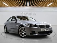 USED 2013 62 BMW 5 SERIES 2.0 520D M SPORT 4d AUTO 181 BHP +  Leather Interior, Bluetooth