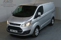 USED 2017 67 FORD TRANSIT CUSTOM 2.0 290 LIMITED 130 BHP L1 H1 SWB EURO 6 AIR CON VAN AIR CONDITIONING EURO 6 ENGINE