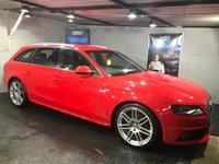 USED 2010 60 AUDI A4 2.0 AVANT TDI S LINE SPECIAL EDITION 5d 141 BHP Bluetooth  :  DAB Radio   :  Part leather upholstery   :  Rear parking sensors   :  Comp service history